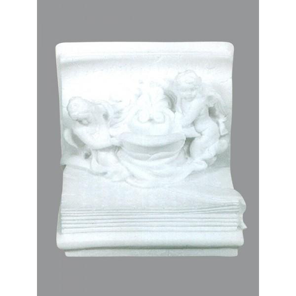 Διακοσμητικό με αγγέλους Ταφικά αγάλματα μαρμάρινα πολυεστερικά - Εργαστήριο Γλυπτικής - e-sculpture.gr