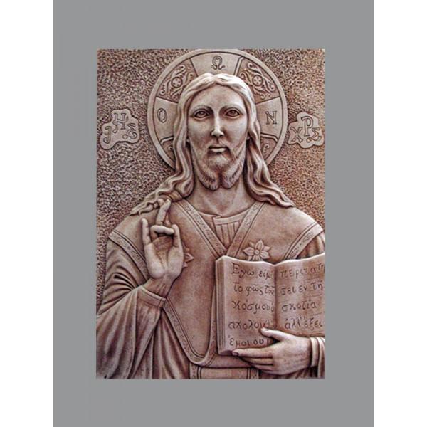 ΧΡΙΣΤΟΣ Χυτές θρησκευτικές εικόνες - Εργαστήριο Γλυπτικής - e-sculpture.gr