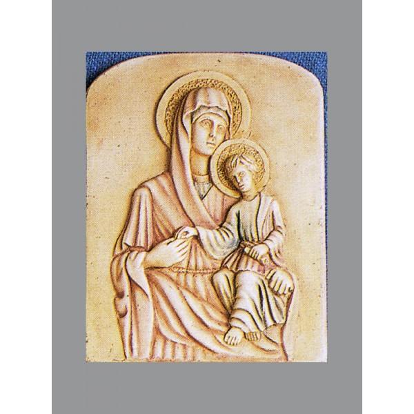 ΠΕΤΡΙΝΗ ΕΙΚΟΝΑ ΠΑΝΑΓΙΑΣ Χυτές θρησκευτικές εικόνες - Εργαστήριο Γλυπτικής - e-sculpture.gr