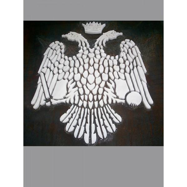 ΒΥΖΑΝΤΙΝΟΣ ΑΕΤΟΣ ΣΕ ΥΔΡΟΚΟΠΗ Υδροκοπή σε μάρμαρο - γρανίτη - Εργαστήριο Γλυπτικής - e-sculpture.gr
