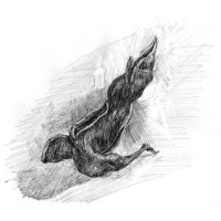 Ζωγραφική με κάρβουνο, λάδι, ακουαρέλα