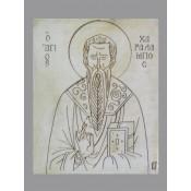 Μαρμάρινες θρησκευτικές εικόνες